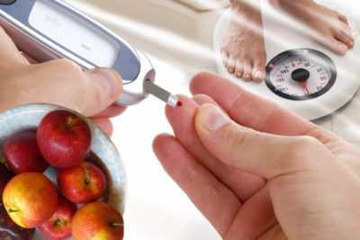 Яблоки при сахарном диабете любого типа
