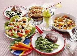 Пример 8-й диеты диабетика