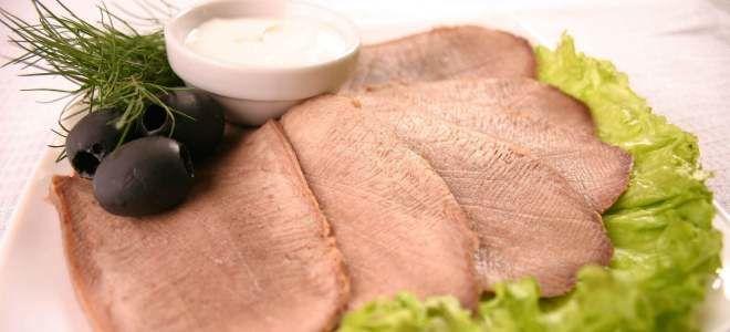 Говяжий и свиной язык при панкреатите