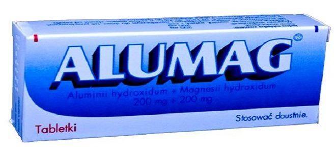 Инструкция по применению препарата Алюмаг