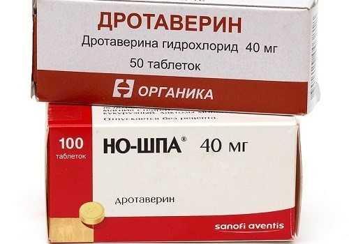 Дротаверин и Но-Шпа
