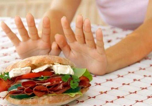 Нельзя есть вредную пищу