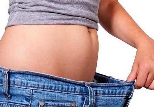 Похудевший человек