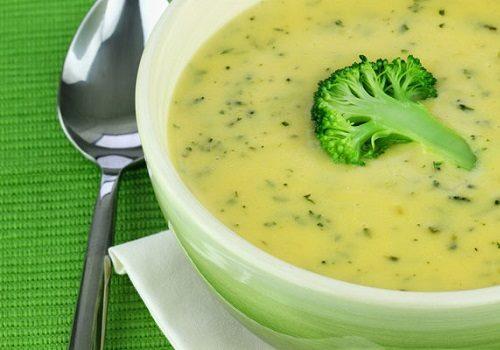 Суп-пюре из овощей с цветной капустой