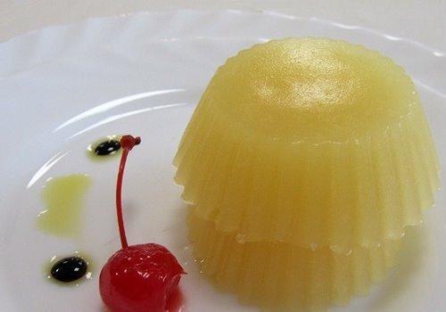 желе из ананаса