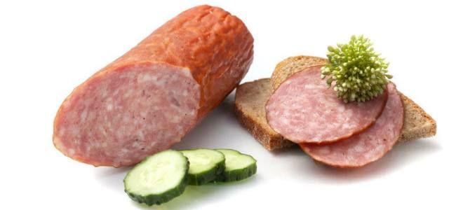 Употребление колбасы при панкреатите