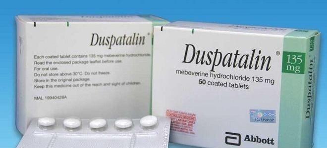 Как принимать Дюспаталин: дозировка, продолжительность лечения