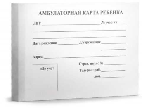 Амбулаторная карта