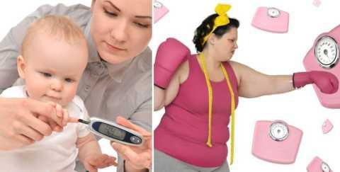 Чаще всего, причина СД1 – наследственность, а СД2 – лишний вес и малоподвижность