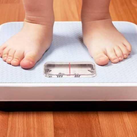 Детское ожирение – опасный недуг