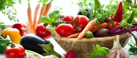 Диабет 1 типа допускает прием в пищу всех овощей.