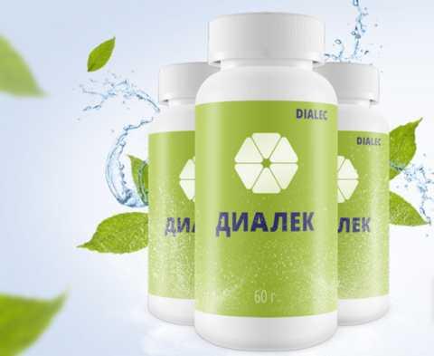 Диалек – одно из наиболее удобных для применения растительных средств от диабета.