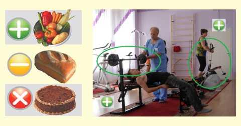 Диета и ЛФК – неотъемлемые составляющие лечения сахарного диабета