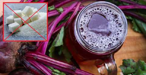 Для приготовления лечебного антидиабетического свекольного кваса сахар (!) не нужен