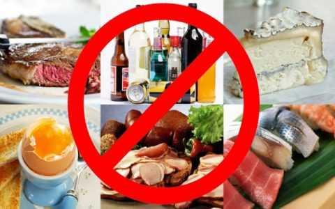 Для сохранения здоровья от многих продуктов придется отказаться
