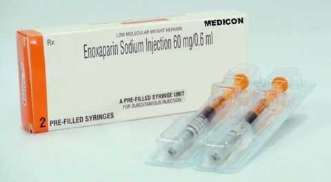 Эноксапарин натрия
