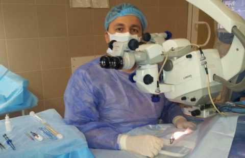 Факоэмульсификация или ультразвуковое лечение катаракты.