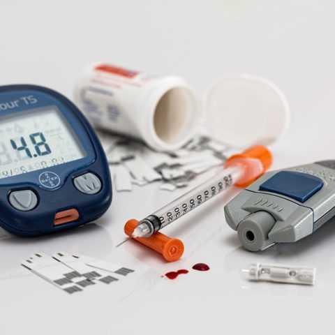 Глюкометр для измерения значения глюкозы