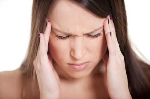 Головная боль как симптом поражения.
