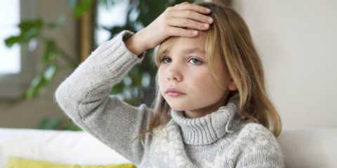 Головная боль у ребенка.