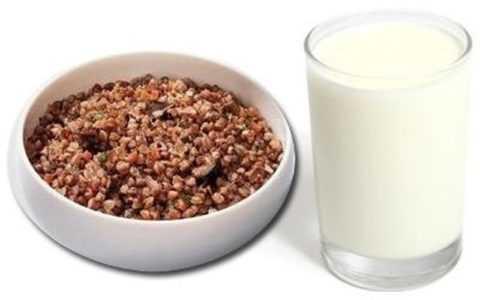 Гречка и кефир не только снижают чувство голода, но и снижают уровень сахара