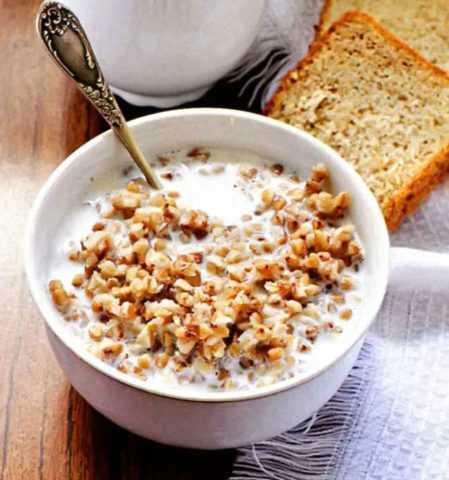 Гречневая каша на завтрак