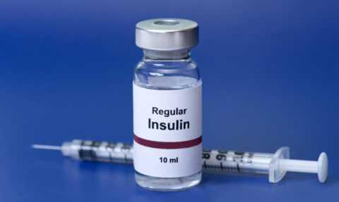 Инсулин для снижения глюкозы в крови при диабете первого типа