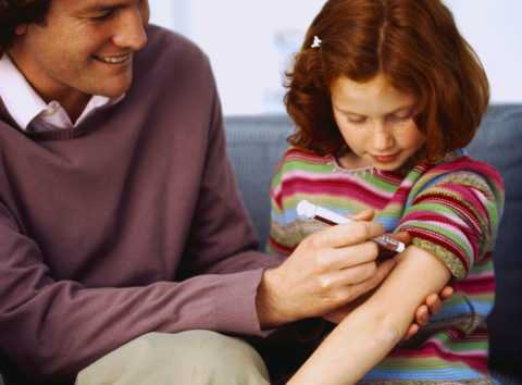 Инсулиновая инъекция