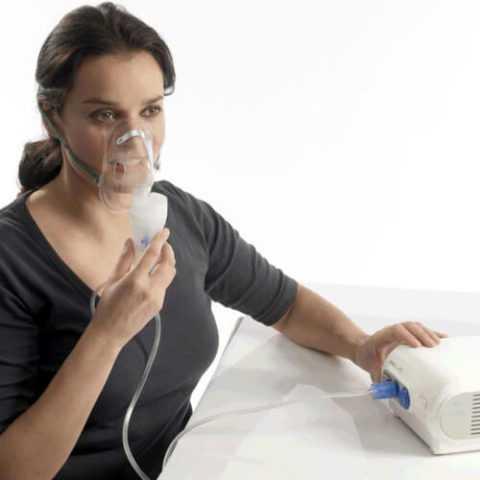 Использование небулайзера во время простуды