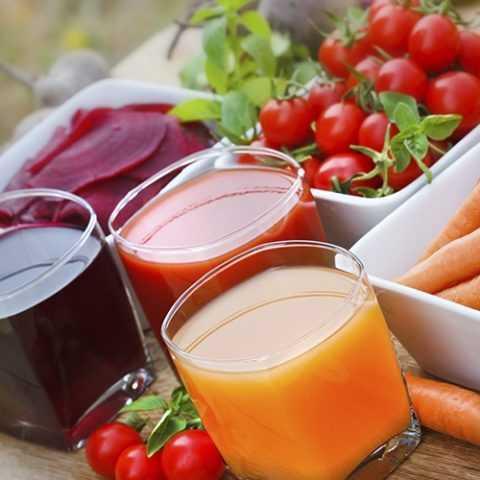 Использование овощных соков для диабетиков