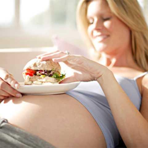 Излишний вес и неправильное питание – причина при беременности
