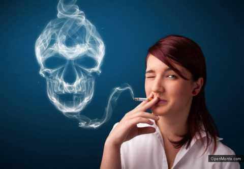 Какой исход ожидает курящего диабетика.