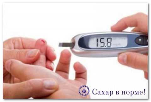 Контроль сахара в крови с помощью глюкометра
