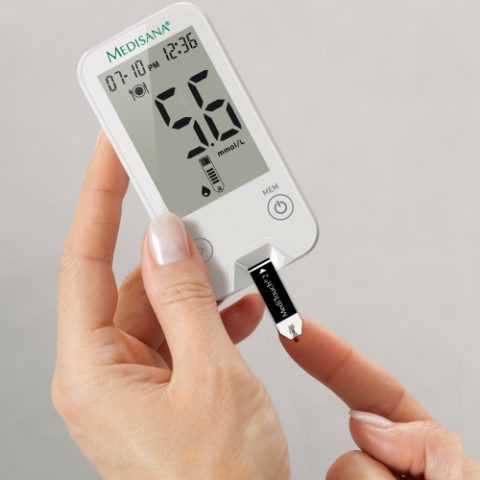 Контроль здоровья с помощью глюкометра