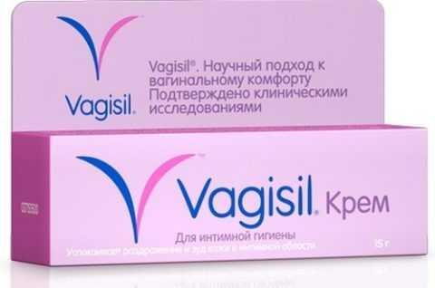 Крем Вагисил на основе Сурфактана, Лаурета и витаминов А, Е и D