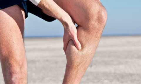 Купирование судорог на ноге