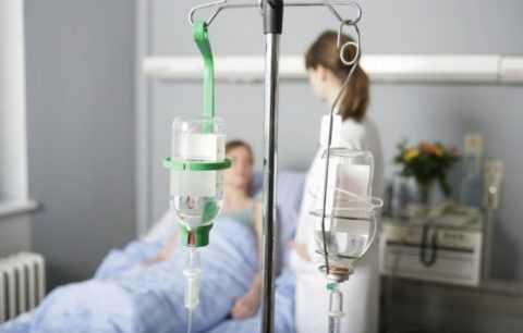 Лечение часто проводится в стационаре.