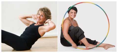Лишние см на талии «убираются» с помощью укрепления мышц живота и спины