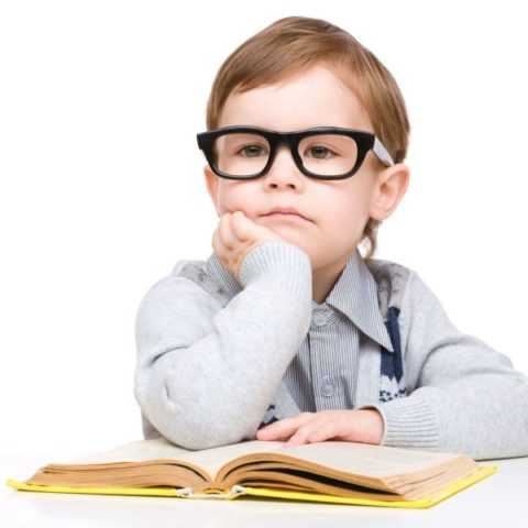 Мальчик с нарушенным зрением