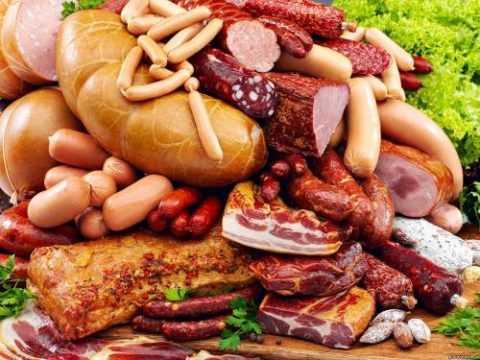 Мясо и мясные изделия