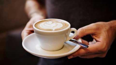 Некрепкий кофе