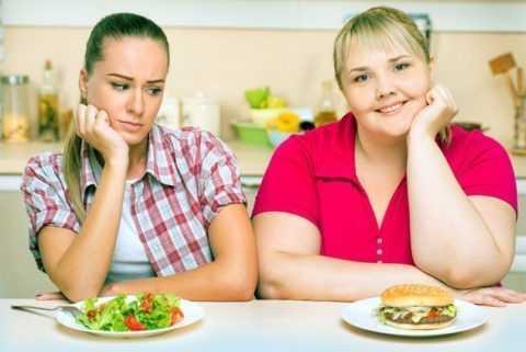 Неправильное питание и избыточный вес могут спровоцировать диабет.