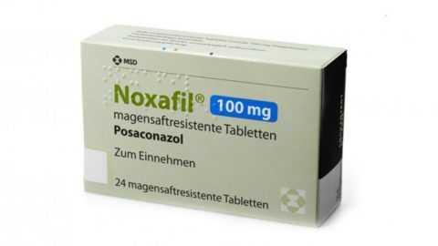 Ноксафил (Позаконазол) – дополнительное средство для лечения грибка при СД