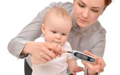 Нормы сахара у малышей значительно отличаются от норм взрослого