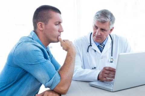 Обратиться к врачу стоит незамедлительно.