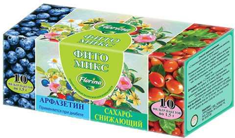 Очень эффективный и широко применяемый травяной сахароснижающий сбор «Арфазетин».