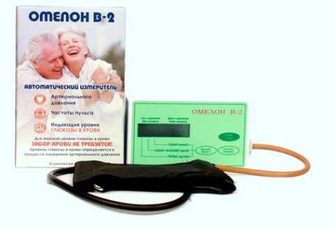 Омелон – 2 в 1: тонометр + глюкометр