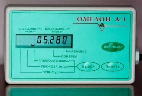 Определение сахара крови этим прибором проводится утром и через 2 часа после еды