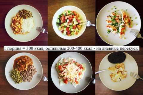 Оптимальное количество приёмов еды за день – 6