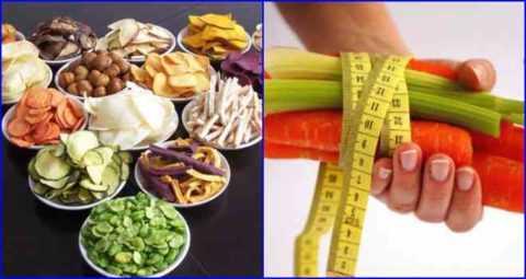 Основа низко-углеводной диеты - овощи